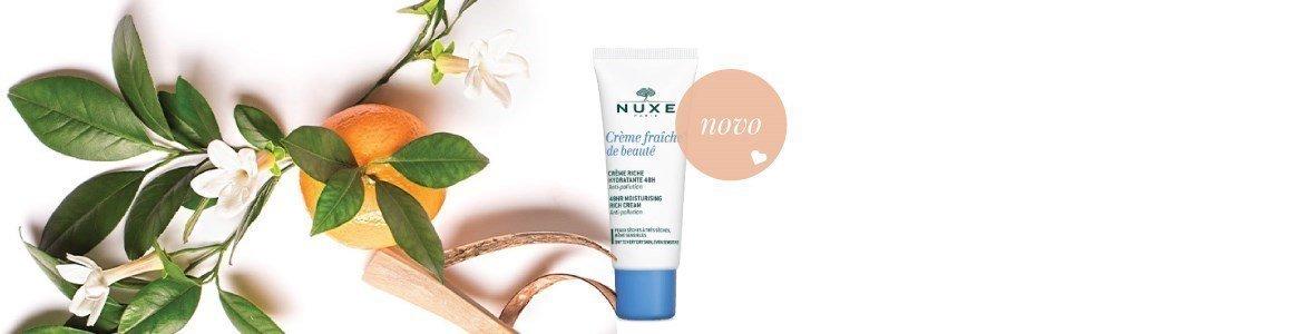 nuxe creme fraiche beaute hidratante rico pele seca muito seca 30ml