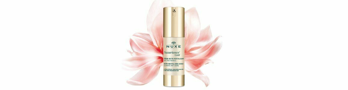 nuxe nuxuriance gold serum nutri revitalizante pele seca