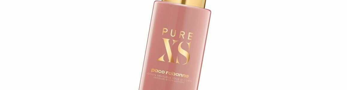 paco rabanne pure xs her body lotion