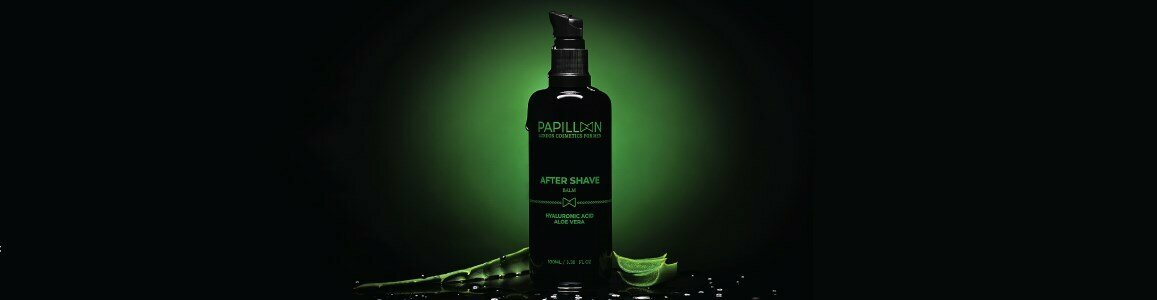 papillon balsamo after shave acido hialuronico aloe vera