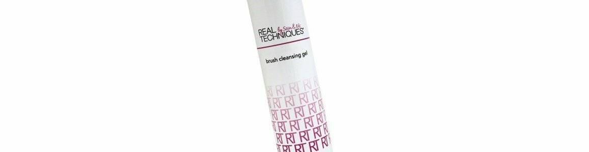 real techniques gel limpeza pinceis