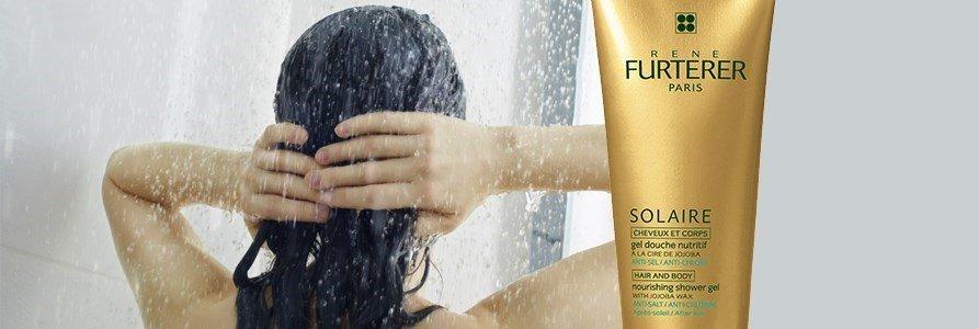 rene furterer solaire gel douche nutritivo corpo cabelo pos solar