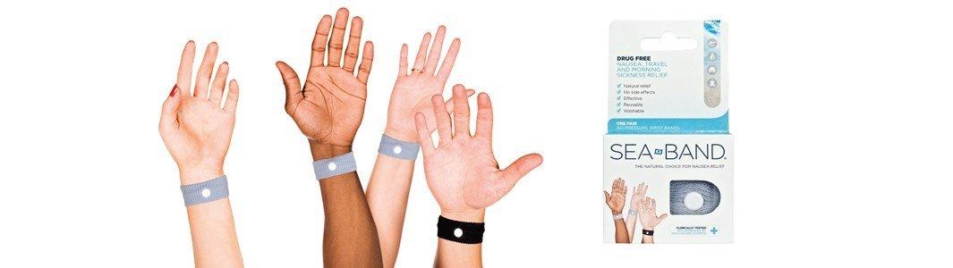 sea band pulseira anti enjoo adulto