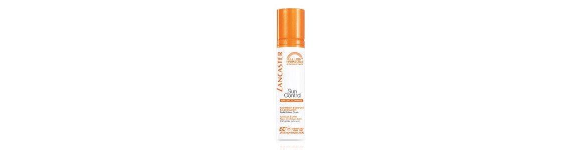sun control creme protetor solar rosto anti idade lancaster