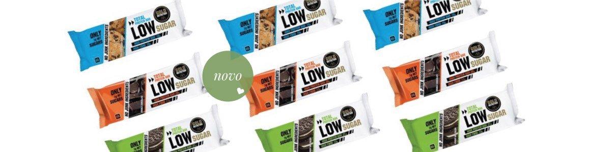 total low sugar barra proteina baixo teor acucar