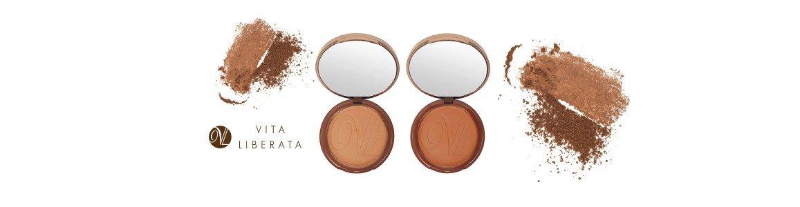 vita liberata trystal pressed self tanning bronzeador minerals