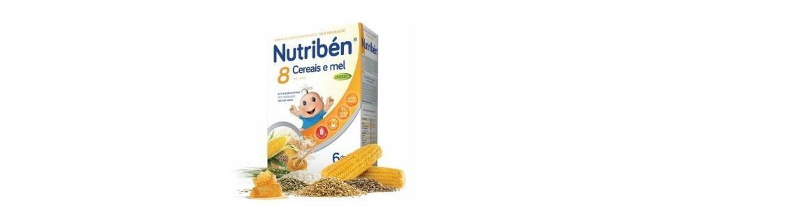 nutriben papa 8 cereais mel efeito bifidus