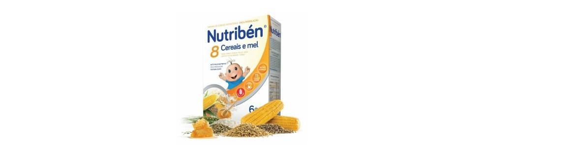nutriben 8 cereais mel 4 frutas