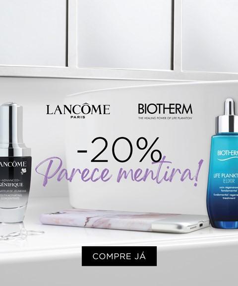Lancôme & biotherm   -20%
