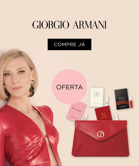 Giorgio armani | oferta bolsa + kit 4 perfumes