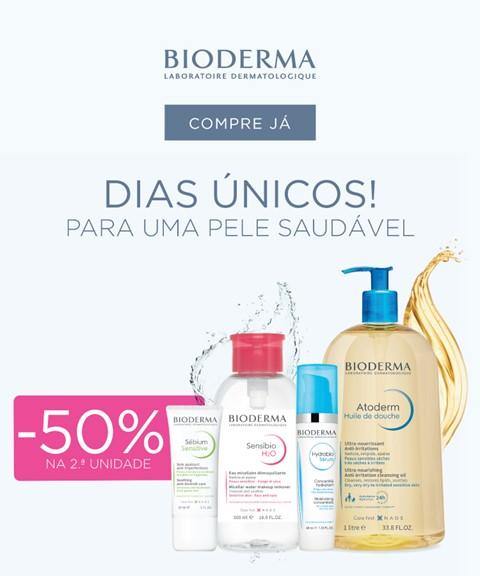 Bioderma | -50% na 2a unidade